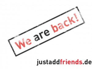 justaddfriends.de reloaded!