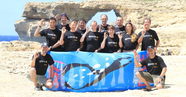 Mares Freediver René Trost berichtet von einer Woche Freeedving in Gozo