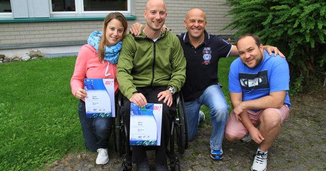 Freediving mit Handicap