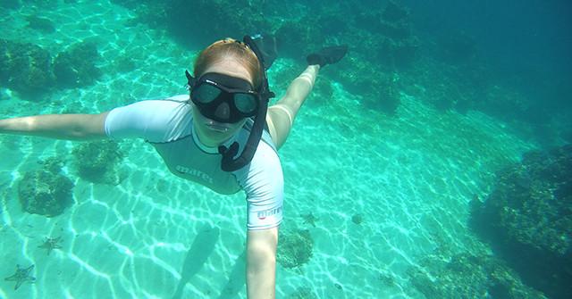 Nik Linder berichtet: Mein Projekt mit der Unterwasser : In 8 Wochen zum Apnoetaucher