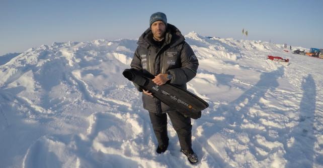Christian Redls extremster Freitauchgang unter dem Eis des Nordpols