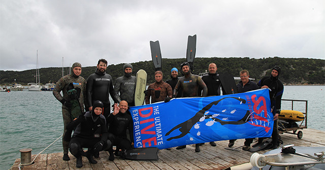 Freediving, User und FITC in Rab Kroatien