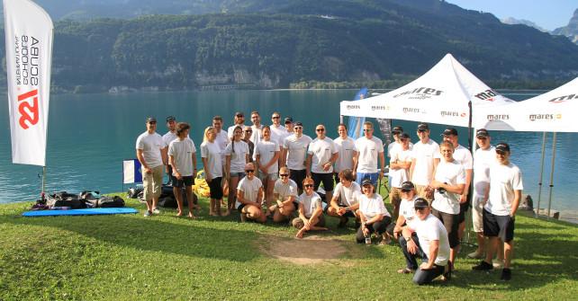 Mares beim 2. Apnea Festival am Walensee in der Schweiz