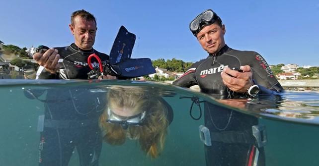 Apnoe Mediterranea mit Gerald Nowak und Andreas Kron