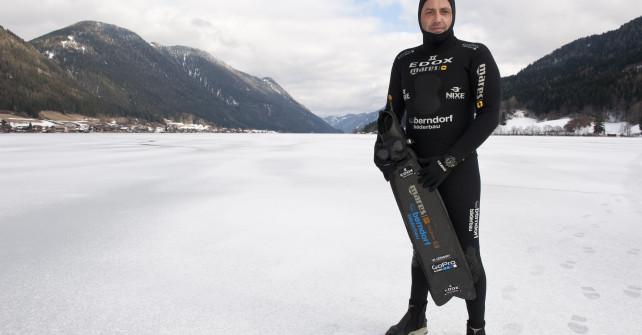 200 Meter unter Eis – Christian Redl über seinen neuen Rekord