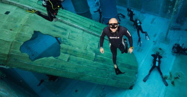Freediving Workshop mit den Mares Freedivern