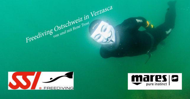 """Rene Trost berichtet von seinem """"Freediving  Weekend  Verzasca"""""""