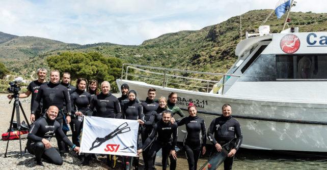 Freediving Circus Cala Joncols 2017 mit Rene Trost