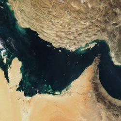 Persischer Golf und Golf von Oman