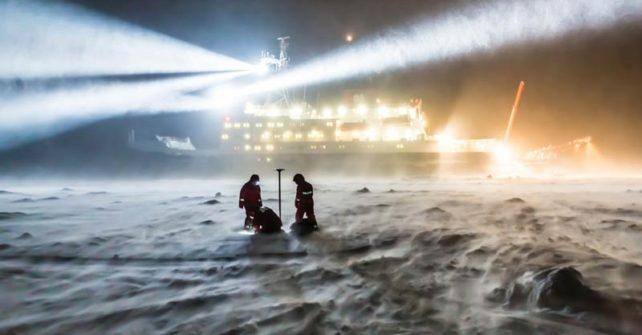 """Arktis-Expedition: Forschungsschiff """"Polarstern"""" soll im Eis festfrieren"""