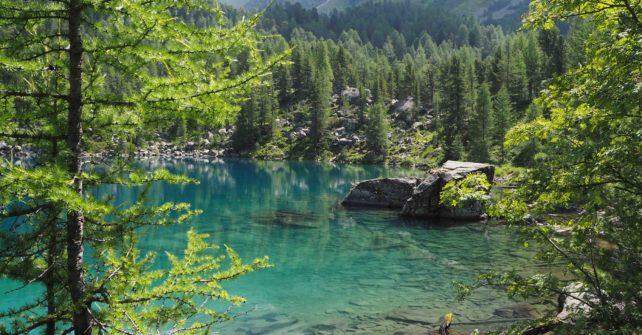 Bergsee pur – Rene Trost am Bundi Lagh da Saoseo