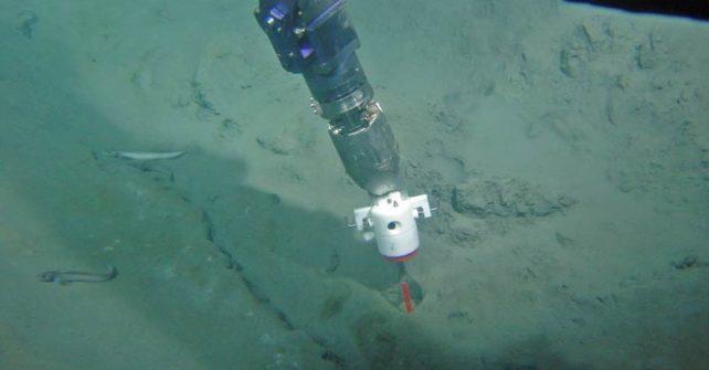 Wie in der Tiefsee ein Filter für Treibhausgas entsteht