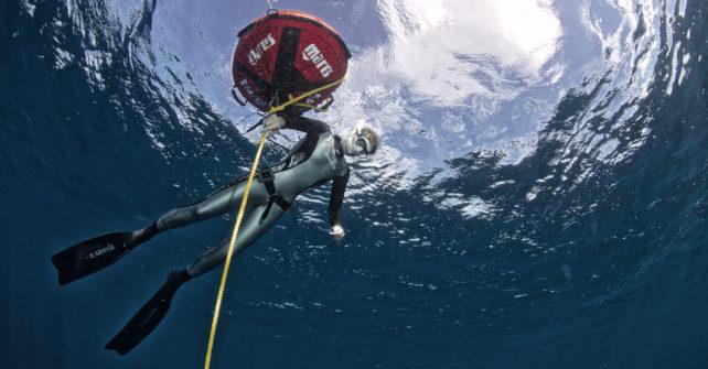Mares Ambassador Doris Hovermann über Opencell Freediving Anzüge
